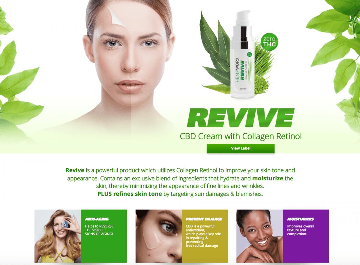 Cbd and Retinol Facial Cream for people in Sacramento, California